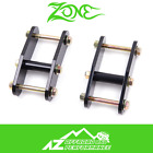 Zone Offroad Shackles 1 Lift Front Rear 87 95 Jeep Wrangler YJ J5108