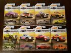 Hot Wheels 2018 100 Years of Chevrolet Trucks Walmart Complete Set Lot of 8