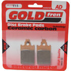 Front Disc Brake Pads for Malaguti F15 Firefox 50 L/C 1999 50cc  By GOLDfren