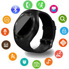 Android Smart Watch Round Touch Screen Bluetooth Phone for Oneplus ZTE iphone LG