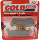 Front Disc Brake Pads for Moto Morini 350 Dart 1988 344cc  By GOLDfren