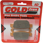 Rear Disc Brake Pads for Honda NSS250EX Forza 2005 250cc (ABS) By GOLDfren