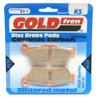 Front Disc Brake Pads for Benelli BX Enduro 505 2008 505cc  By GOLDfren