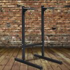 Power Tower Home Gym Workout Dip Station Chin Parallel Pull Up Bar Training NEW