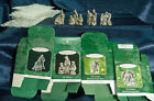 Hallmark Ornaments The Nativity Pewter Miniature with Boxes Full Series Set of 4