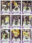 2018 Leaf Metal US Army All-American Bowl Football Cards - Trevor Lawrence Autographs 19