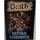 """DEATH BEFORE DISHONOUR S/T PATCH 14.5""""X11.5"""" Backpatch"""