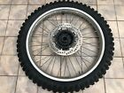 1984 1985 Honda XR250R XR 250 350 500 600 OEM front wheel and tire 44601-MG3-000