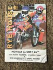 2002 Rye House Speedway Double Header Programme