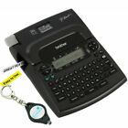 Brother P touch PT 1890w Thermal Machine Label Printer Maker 2 Tapes + Keychain