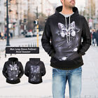 Mens 3D Pullover Sweater Shirt  Hoodie Polyester  Graphic Tops Printed Dhristmas