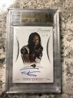 2015 National Treasures Rookie Signatures Todd Gurley AUTO 12 25 BGS 9.5 10 Rams