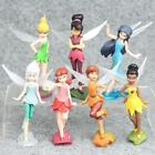 1 Set of 7 Disney Princess Tinker Bell Fairies Family Assemble Figures Dolls Toy