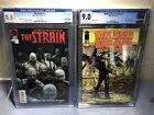 Thw Walking Dead Weekly #1 The Strain #1 CGC Lot