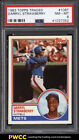 1983 Topps Traded Darryl Strawberry ROOKIE RC #108T PSA 8 NM-MT (PWCC)