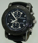 MONTBLANC 44mm MEN's AUTOMATIC BLACK DLC SPORT CHRONOGRAPH WATCH NMNT Ref 104279