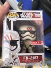 Funko Pop Star Wars #100 FN-2187 * Target Exclusive * The Force Awakens * RARE *