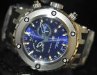 Invicta Men's Rare Swiss Reserve Multi-Function Blue Dial Poly Watch 6214