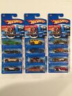 Hot Wheels Faster Than Ever Lot Of 12 CAMARO HUMMER VW BEETLE CUP SUPERBIRD