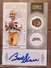 2011 BART STARR NATIONAL TREASURES RING OF HONOR AUTOGRAPH SP AUTO #40 50 L@@K
