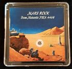 COLLECTOR EDITION AUTHENTICATED MARTIAN METEORITE 15mg Mars Rock Display+Easel