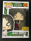 Funko Pop Rocks #69 Alice Cooper Straight Jacket Hot Topic Exclusive Figure New