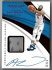 ANDRE DRUMMOND 2017 PANINI IMMACULATE AUTO SNEAKER SWATCH AUTOGRAPH CARD #15 15!