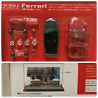 KYOSHO Ferrari 360 spider (2000) 1/64 model kit + DyDo diorama collection case
