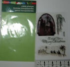 Stampendous Nativity Christmas Clear stamp set