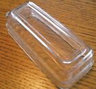 Vintage Fire King Clear Glass Lid for Jadeite Jadite Butter Dish Lid Only HTF