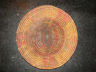 Vintage Native Woven Grass Basket Southwestern Ethnographic NR
