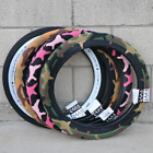 CULT BMX VANS BICYCLE TIRE 20 X 240 CAMO BLUE ORANGE RED GRAY PINK