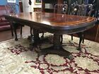 Maitland Smith Flamed Mahogany Dining Table at The Raleigh Furniture Gallery