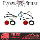 Poison Spyder LED Taillights with Wiring Harness Kit For 07 18 Jeep Wrangler JK
