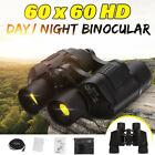 Day Night 60x60 5 3000M Waterproof HD Hunting Binoculars Telescopes Outdoor AU