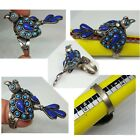 Old Afghan Unique And Lovely Bird Ring Carved With Lapis Lazuli
