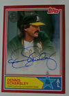 Dennis Eckersley 2018 Topps Update 1983 TOPPS RED AUTOGRAPH All-Star Oakland A's