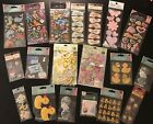 Jolees Boutique KCo MORE LOT of 19 Pkgs BABY BOY GIRL Stickers BRAND NEW
