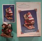 Hallmark Christmas Ornament 2004 DOWNHILL DELIVERY Nick Christopher Bear Toys