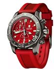 Victorinox 241422  Swiss Army Red Dive Master 500 Men's Chronograph Watch