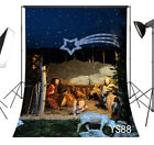 Nativity Scene Jesus Vinyl Photography Photo Studio Props Backdrop Background