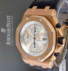 Audemars Piguet Rare Royal Oak Offshore 18k Rose Gold Watch Box/Papers 26061OR