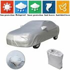 Universal Full Car Cover Waterproof Breathable Snow Rain Sun Uv Dust Resistant
