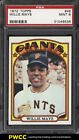 1972 Topps Willie Mays #49 PSA 9 MINT (PWCC)