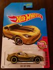 Hot Wheels 2017 Super Treasure Hunt 2013 SRT Viper Gold HW Then