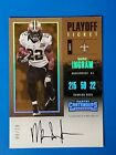 2017 Contenders Playoff Ticket New Orleans Saints Mark Ingram on card auto 9 10