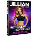 Jillian Michaels Killer Cardio DVD Fitness Training Workout Exercise Video NEW