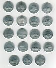 (19) 1968 Sunoco Different Antique Cars Franklin Mint Coin Collection Lot