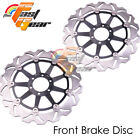 Racing Front Brake Disc Rotor x2 Fit APRILIA SHIVER 750 GT 2009