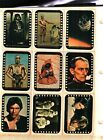 1977 Topps Star Wars Sticker Card Set OF 11 Series Yellow Very Good TO Excellent